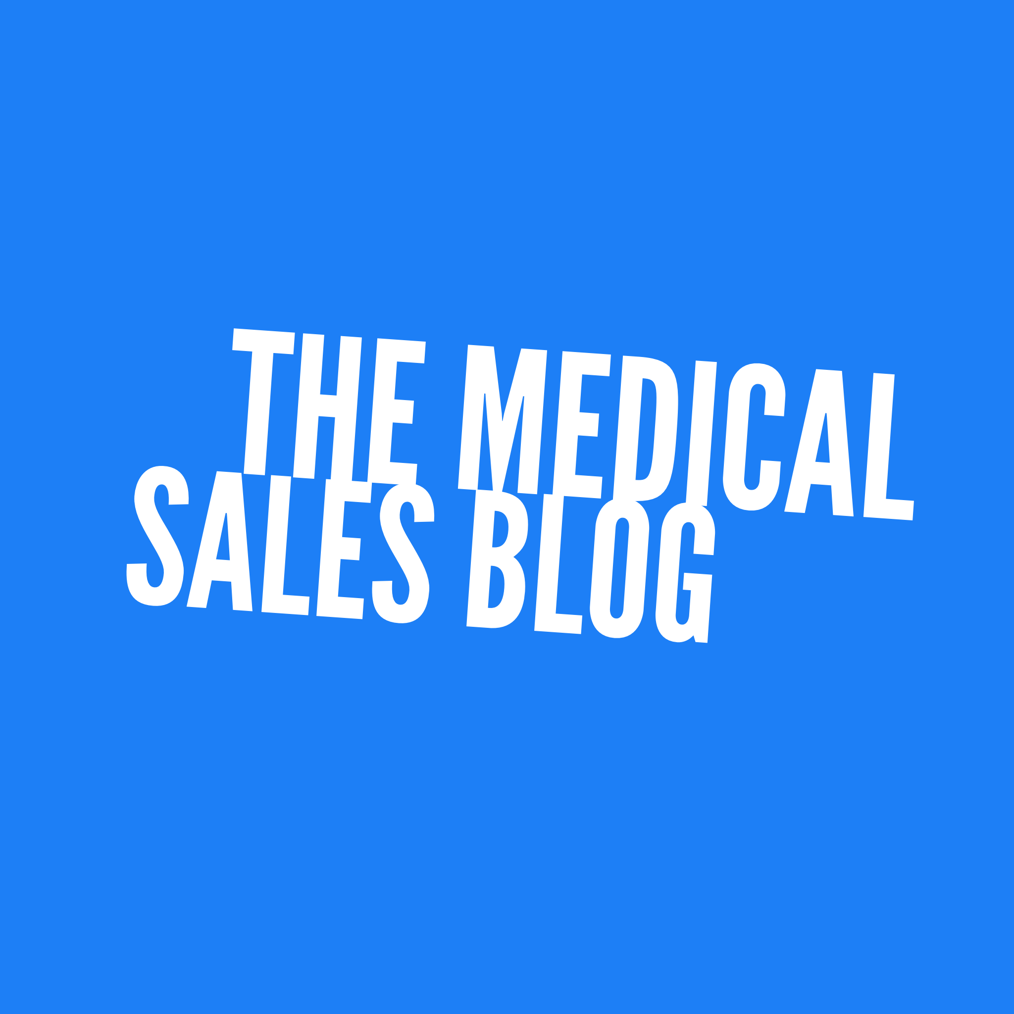 medical sales articles you won't find anywhere else