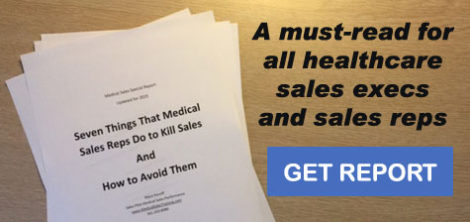 Get the medical sales special report